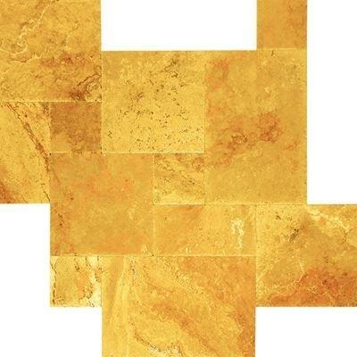 Travertin žlutý