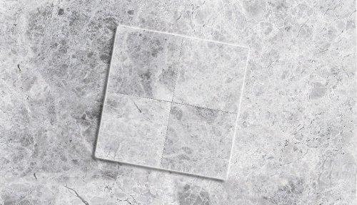 Mramor Stříbrno-šedý